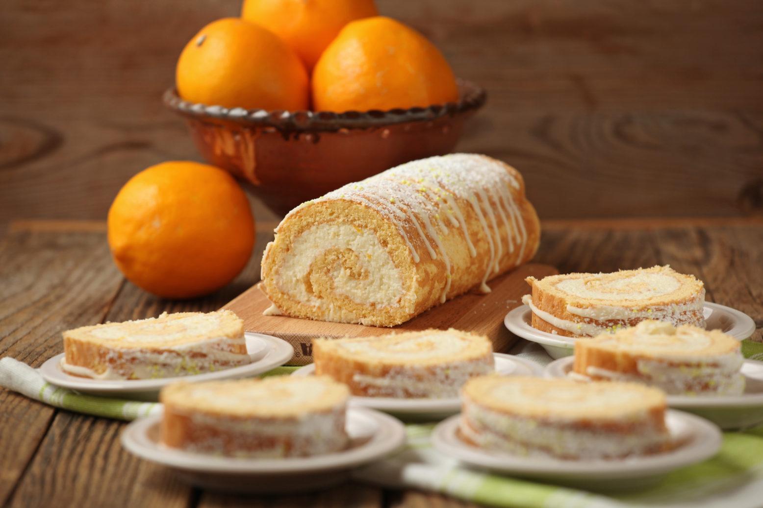 Meyer citromos-kókuszos tekercs